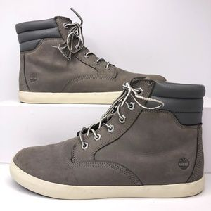 Timberland Dausette Gray Ortholite Boots Size 10
